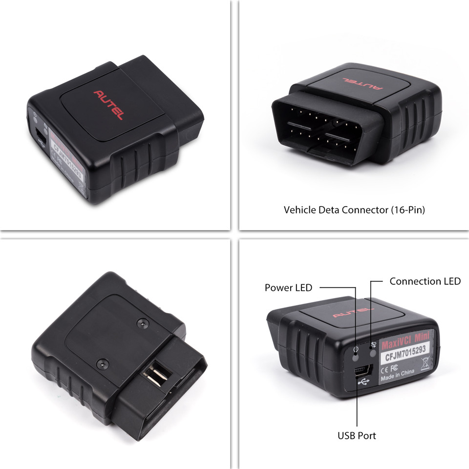 Autel MK808TS Adapter