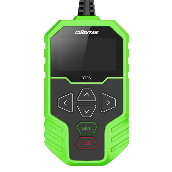 OBDSTAR BT06 Battery Tester Interface