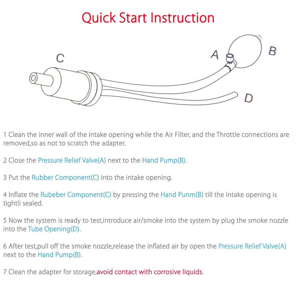 Quick Intake universal intake adaptor