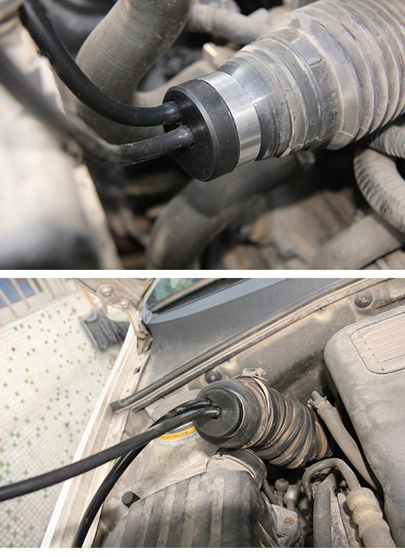 Quick Intake adaptor Using on Car