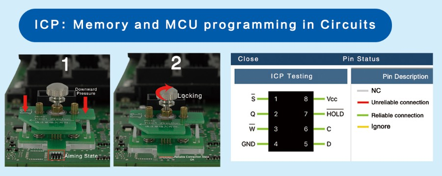 ICP: Memory and MCU programming In Circuits