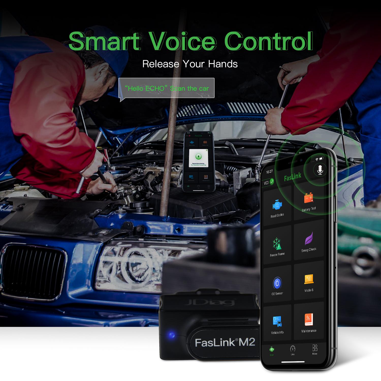 Faslink M2 Smart Voice Control