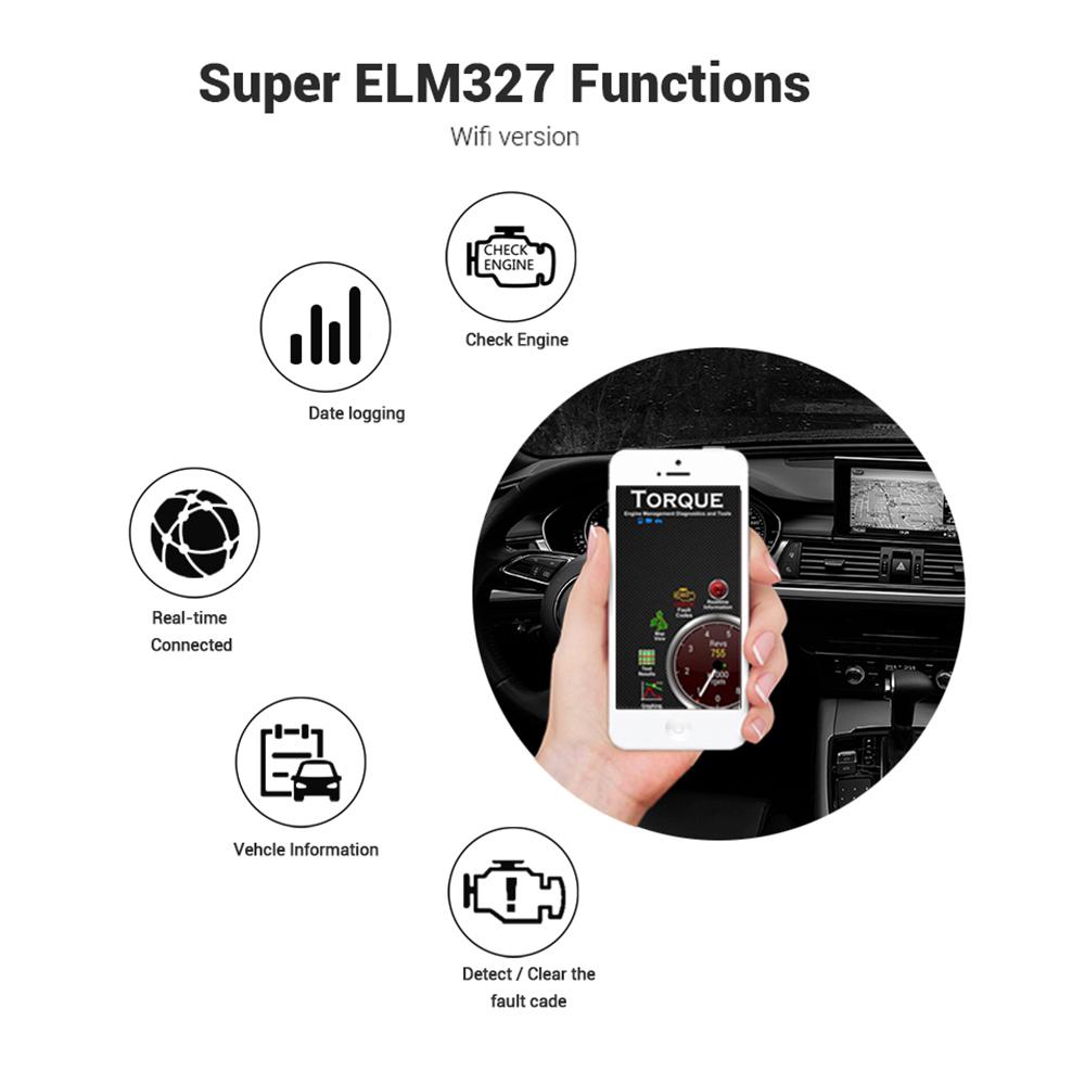 ELM327 Wifi Function List