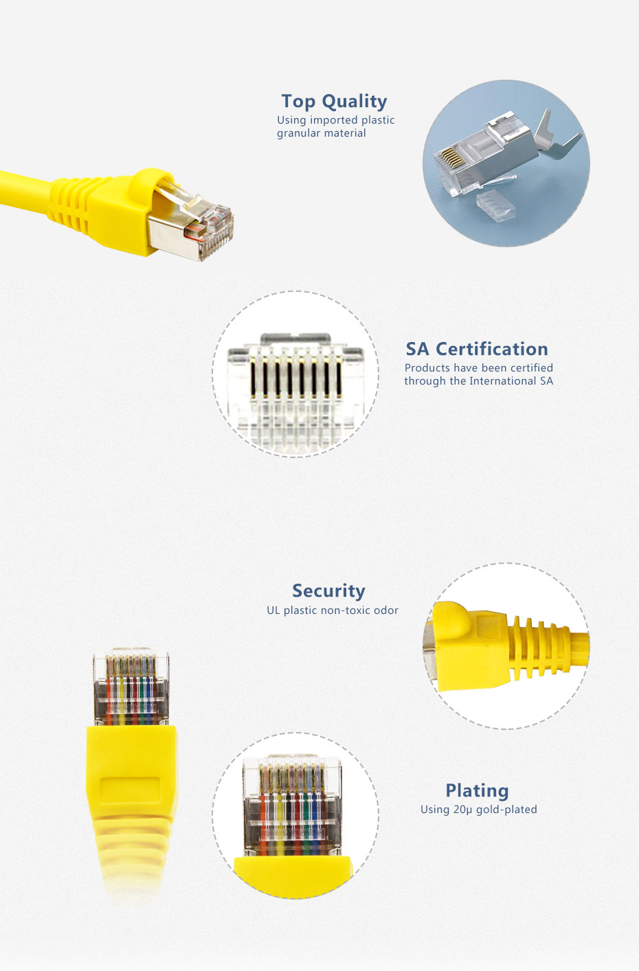Enet Cable Lan Cable