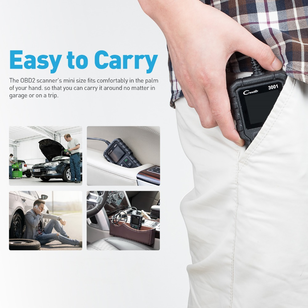 CR3001 Easy to Carry