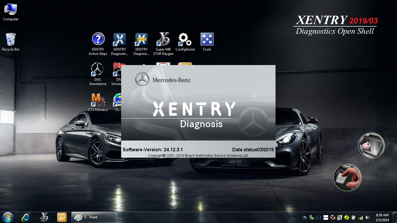 2019 Xentry